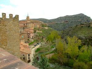 Albarracín, Adarve del Fondón