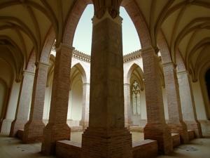 Amantes de Teruel, Claustro de San Pedro