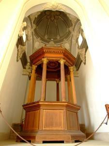 Amantes de Teruel, Antiguo templete de los Amantes