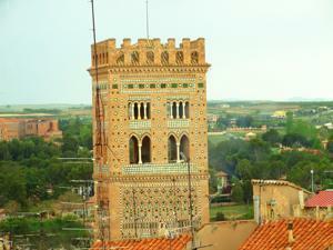 Amantes de Teruel, Torre de El Salvador