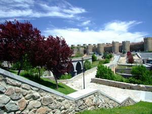 Ávila, Oeste de Ávila