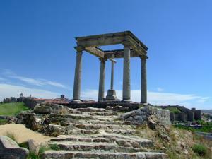 Ávila, Humilladero de los Cuatro Postes