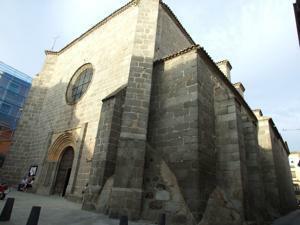 Ávila, Iglesia de San Juan Bautista