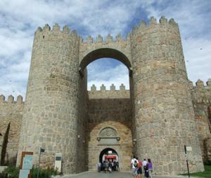 Ávila, Puerta del Alcázar