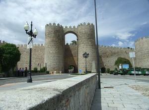Ávila, Puerta de San Vicente