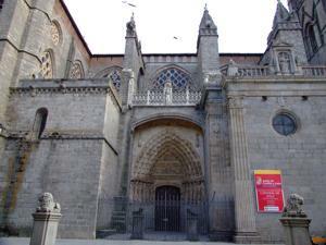 Ávila, Portada Norte de la Catedral