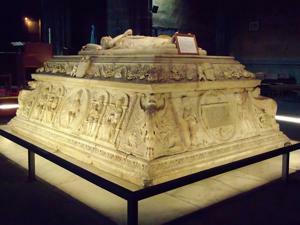 Ávila, Monasterio de Santo Tomás, Sepulcro del Príncipe Juan