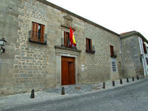 Ávila, Palacio de Don Gaspar del Águila