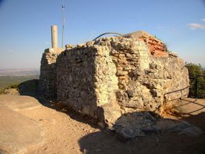 Cadalso de los Vidrios, Restos del observatorio musulmán de Peña Muñana