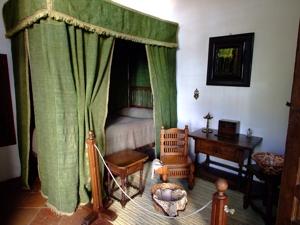 Casa-Museo Lope de Vega, Dormitorio de las hijas