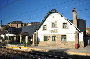 Alpedrete, Estaci�n de Tren de Mataespesa