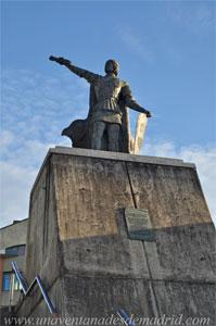 Arroyomolinos, Estatua de Gonzalo Chacón