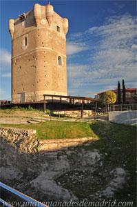 Arroyomolinos, Restos de la torre circular que se levantaba en la esquina Nordeste del antemuro