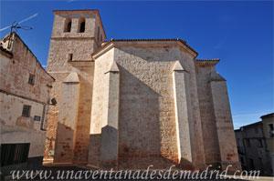 Belmonte de Tajo, Ábside poligonal de la iglesia