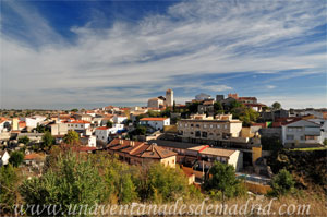 Belmonte de Tajo, Belmonte de Tajo fotografiado desde el Cerro del Calvario