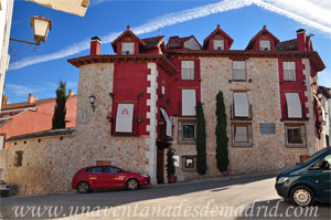 Belmonte de Tajo, Casa Alta