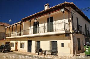 Belmonte de Tajo, Casa con balcón de forja