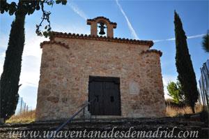 Belmonte de Tajo, Fachada principal de la Ermita de Nuestra Señora de la O