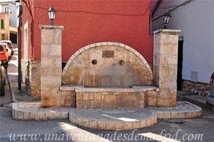 Belmonte de Tajo, Fuente de los Cuatro Caminos