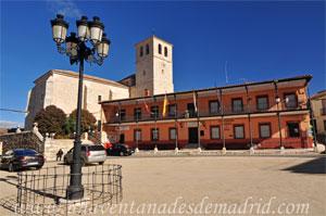 Belmonte de Tajo, Plaza de la Constitución