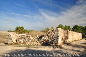 Belmonte de Tajo, Ruinas de la Ermita del Santísimo Cristo