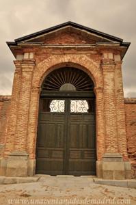 Boadilla del Monte, Portón Este de los Jardines del Palacio del Infante Don Luis