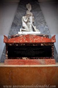 Boadilla del Monte, Sepulcro de María Teresa de Borbón, hija del Infante Don Luis y Condesa de Chinchón