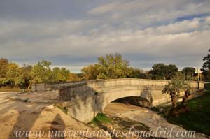 Boadilla del Monte, Cara Oeste del Puente de Piedra sobre el Arroyo de Vallelargo