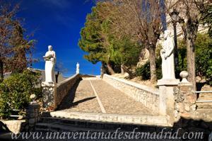 Campo Real, Camino de subida a la Iglesia de Santa María del Castillo