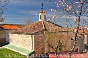 Campo Real, Ábside y lateral Norte de la Ermita del Santo Cristo de la Peña