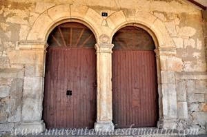 Campo Real, Parteluz de la ermita de la Virgen de las Angustias