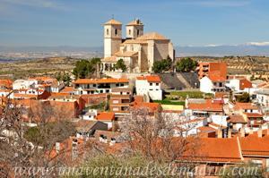 Campo Real, Ábside y pórtico de la Iglesia de Santa María del Castillo