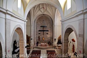 Campo Real, Interior de la Iglesia Parroquial de Santa María del Castillo