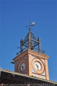Casarrubuelos, Torre del reloj del Ayuntamiento