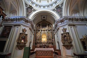 Cerro de los Ángeles, en Getafe, Altar Mayor de la Ermita de Nuestra Señora de los Ángeles