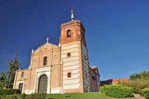 Cerro de los Ángeles, en Getafe, Ermita de Nuestra Señora de los Ángeles