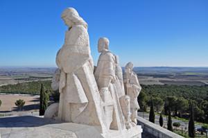 Cerro de los Ángeles, en Getafe, España Defensora de la Fe