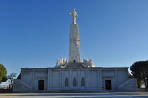Cerro de los Ángeles, en Getafe, Monumento al Sagrado Corazón de Jesús