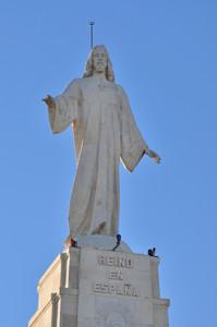 Cerro de los Ángeles, en Getafe, Imagen del Sagrado Corazón de Jesús