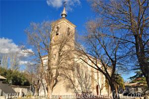 Cubas de la Sagra, Iglesia Parroquial de San Andrés Apóstol