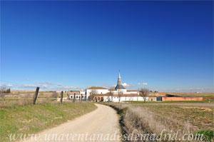Cubas de la Sagra, Monasterio de Santa María de la Cruz