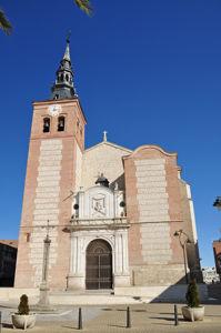 Getafe, Fachada principal de la Catedral