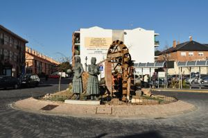 Griñón, Monumento a las Colifloreras
