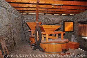 La Hiruela, Interior del molino