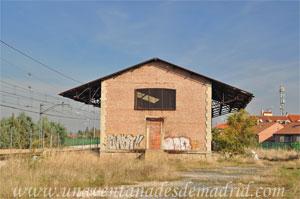 Valdelaguna, Muelle de la antigua estación de ferrocarril