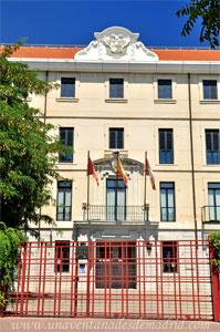 Leganés, Portada principal del Edificio Sabatini