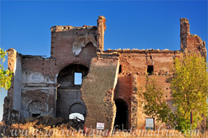 Leganés, Nave de la Epístola (Norte) desaparecida de la Iglesia de San Pedro