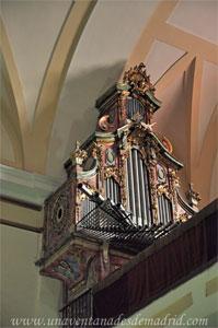 Leganés, Órgano de la Iglesia Parroquial de San Salvador