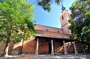 Leganés, Pórtico de la Iglesia Parroquial de San Salvador