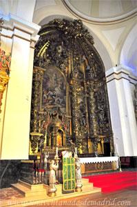Leganés, Retablo Mayor de la Iglesia Parroquial de San Salvador